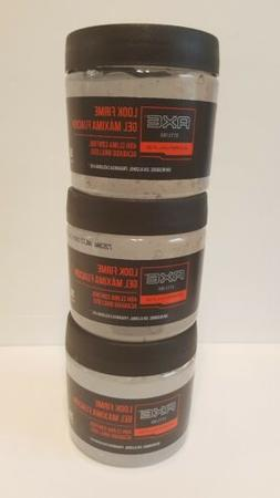 3X AXE Hair Styling Gel~Firm Look~Exclusive Fragrance~250g E