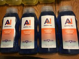4x LA LOOKS Hair Gel EXTREME SPORT 20oz each FREE SHIP