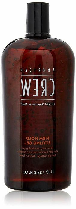 9American Crew Classic Firm Hold Styling Gel, 33.8 Fl. Oz