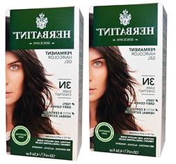 Herbatint 3N Dark Chestnut Permanent Haircolor  Alcohol and