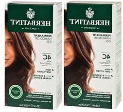 Herbatint 4C Ash Chestnut Permanent Haircolor  Alcohol and A