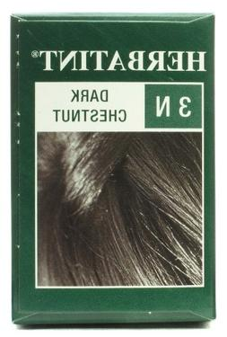 Herbatint Permanent Herbal Haircolor Gel, Dark Chestnut 3N