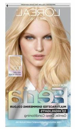 L'oreal LOreal Feria Permanent Haircolour Gel 100 Pure Diamo