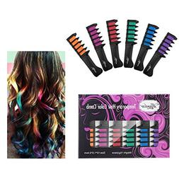 Maydear Temporary Hair Chalk Comb-Non Toxic Washable Hair Co