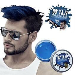 Play 'Do Temporary Hair Color, Hair Wax, Hair Clay, Mens Gro