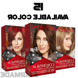 REVLON COLORSILK Beautiful Color Permanent Hair Dye 3D GEL B