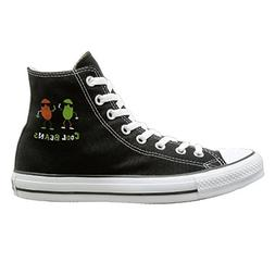 cool beans canvas black sneakers