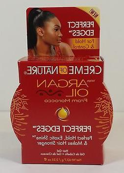 CREAM OF NATURE ARGAN OIL PERFECT EDGE CONTROL HAIR GEL   2
