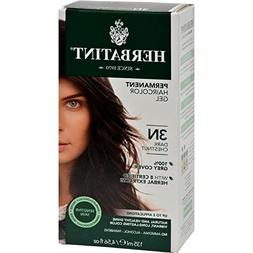 Herbatint 3N Dark Chestnut Permanent Herbal Hair Colour Gel