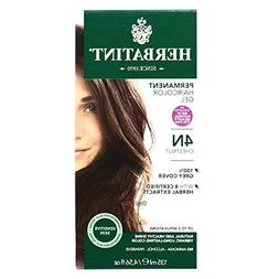 Hair Color 4N Chestnut Kit By Herbatint by Herbatint