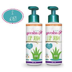 2 Pack Hair Gel for Kids | Light Hold | Chemical Free | Made