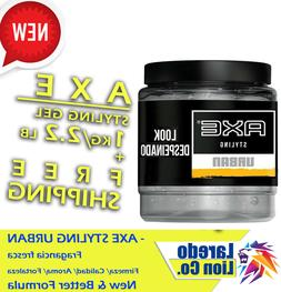 Hair Styling GEL For MEN AXE Styling URBAN 32.27Oz/1kg COOL