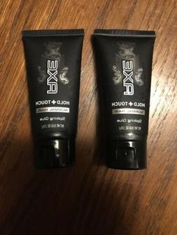 Axe Hold+Touch for Normal Hair Spiking Gel 0.65 oz Lot of 2