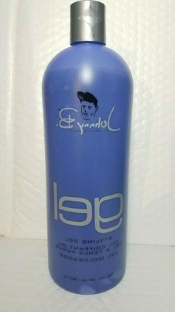 JOHNNY B GEL STYLING GEL NET WT 32 OZ SUPER HOLD GEL MOLDEAD
