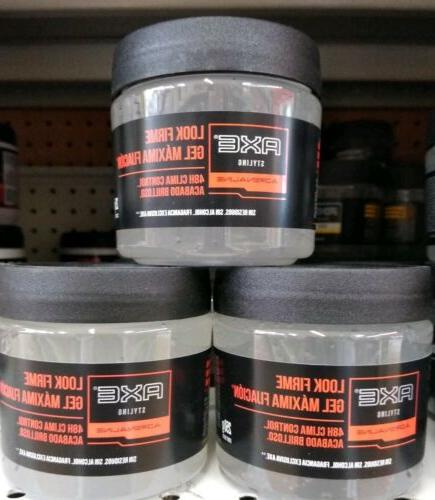 3x hair styling gel firm hold 3