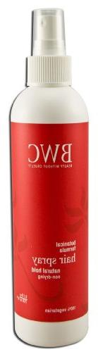 Beauty without Cruelty Hair Spray, Natural Hold, 8.5-Ounces