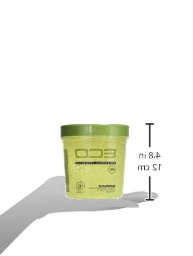 Eco Style Styling Gel, Olive Ounce