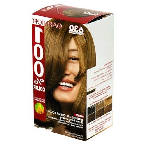 Garnier 100% Color, 630 Light Golden Brown
