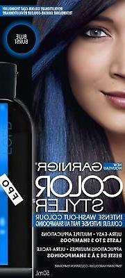 Garnier Hair Color Color Styler Intense Wash-Out Color, Blue