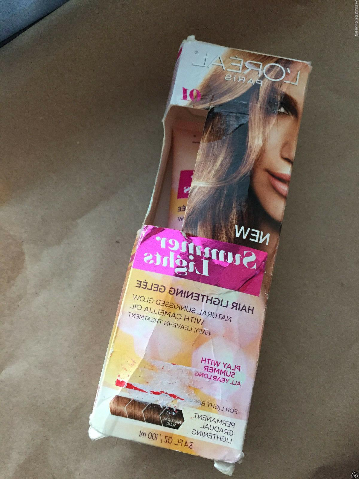 L'Oreal Paris Summer Lights Hair Lightening Gelee, Light Bro