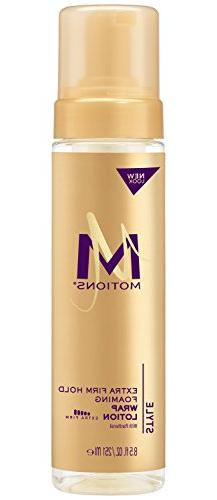 Motions Salon Haircare Extra Firm Hold Foaming Wrap Lotion,