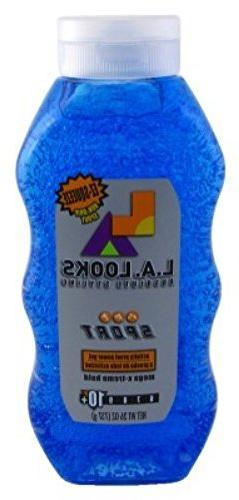 L.A. Looks Sport Xtreme Hold Gel, Hold Level 10+, 26-Ounce b