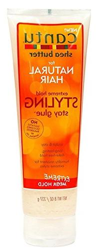 CANTU SHEA BUTTER NATURAL HAIR STYLING STAY GLUE EXTREME HOL