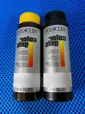 REDKEN COLOR GELS Permanent Hair COLOR ~65+ COLOR's~ 8+=Upgr