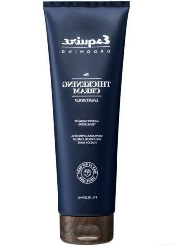ESQUIRE GROOMING THE THICKENING CREAM LIGH HOLD 8oz HIGH SHI