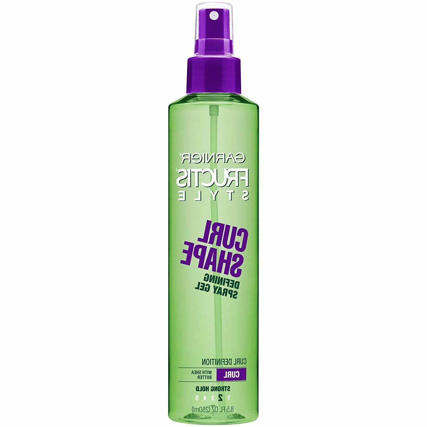 Garnier Fructis Style Curl Shape Defining Spray Gel, Curly H