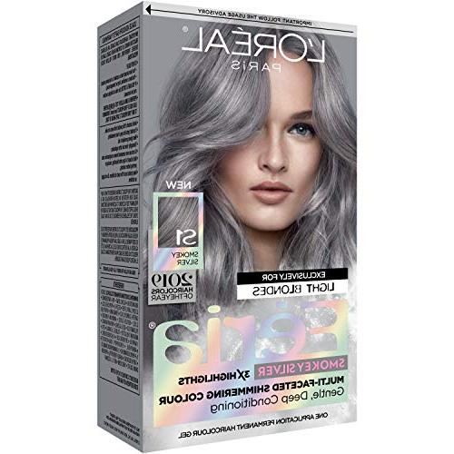 Feria Multi-faceted Coloring, Smokey Silver