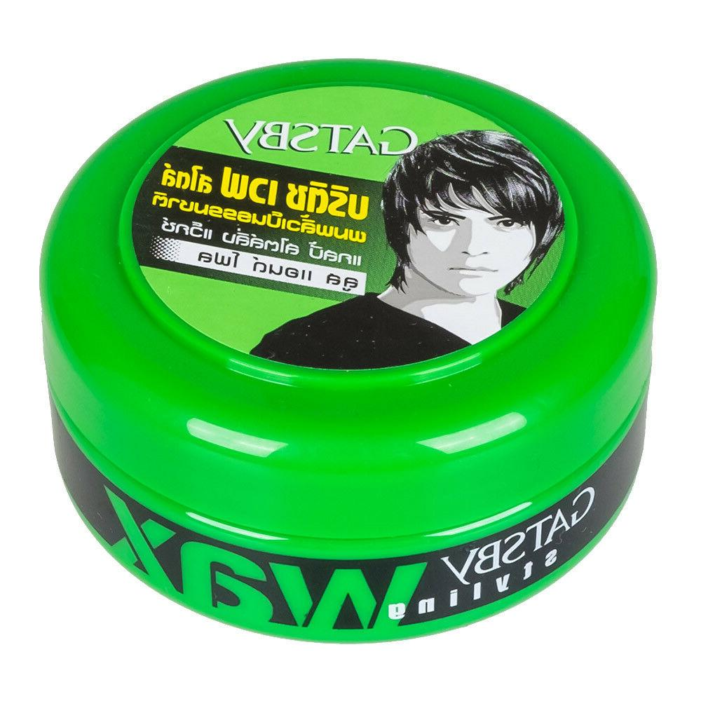 GATSBY HAIR GEL STYLING WAX LOOSE And FLOW