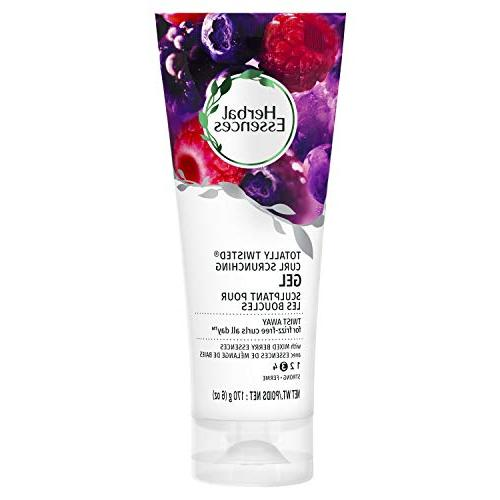 Herbal Essences Totally Twisted Curl Scrunching Gel 6 oz.