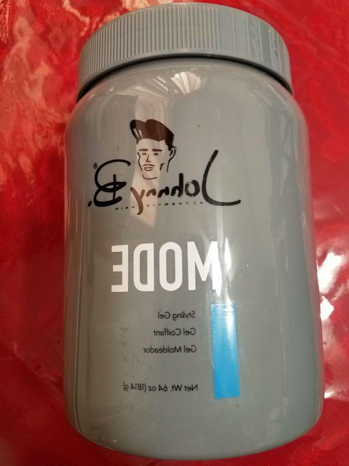Johnny B Mode Hair Gel 64 MODE Can Be New Packaging
