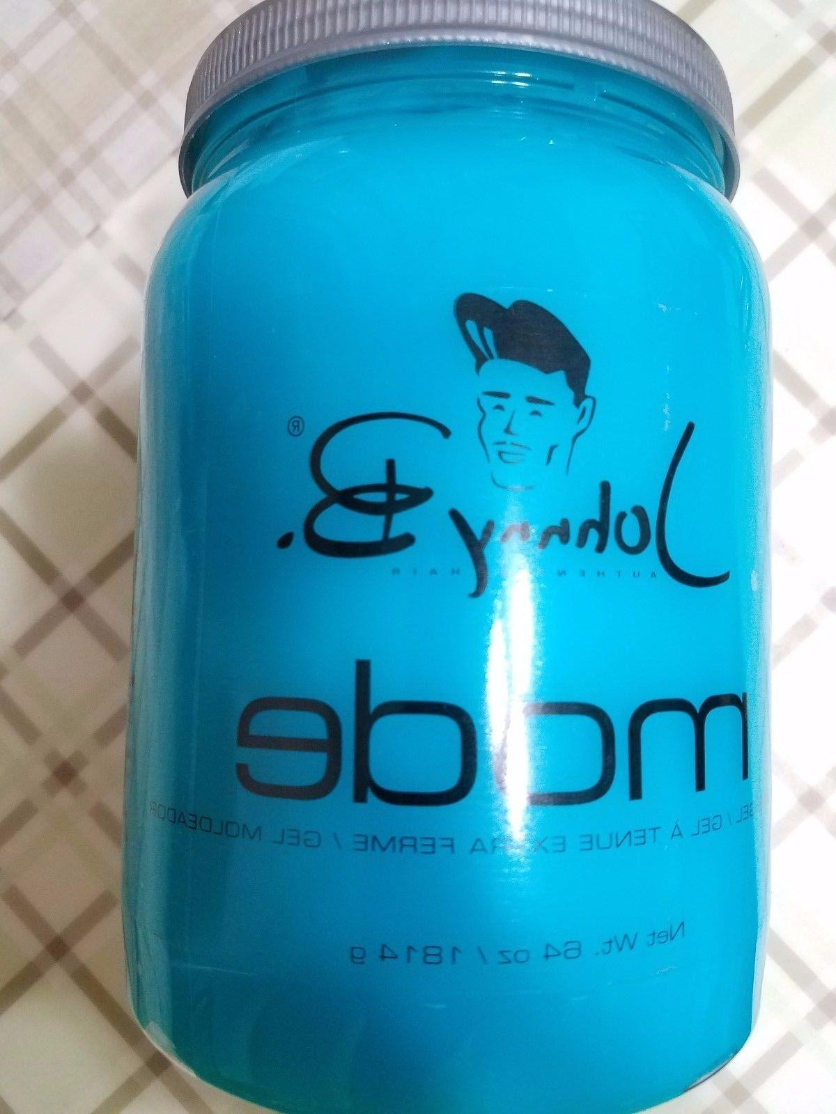 Johnny B Hair Gel MODE CONTAINER NEW