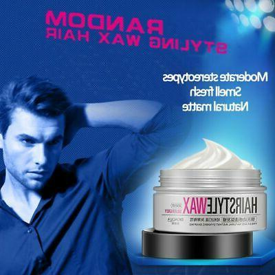 Grey Color Hair Wax Men Women Mud Party Hair Care Gel Long L