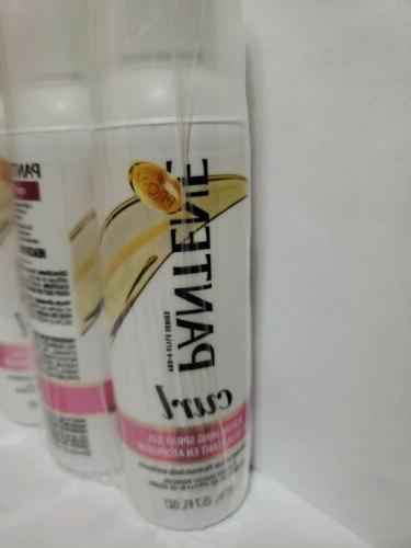 NEW Pack of 3 Pantene Curl