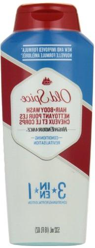 Old Spice High Endurance Conditioning Hair & Body Wash 18 oz