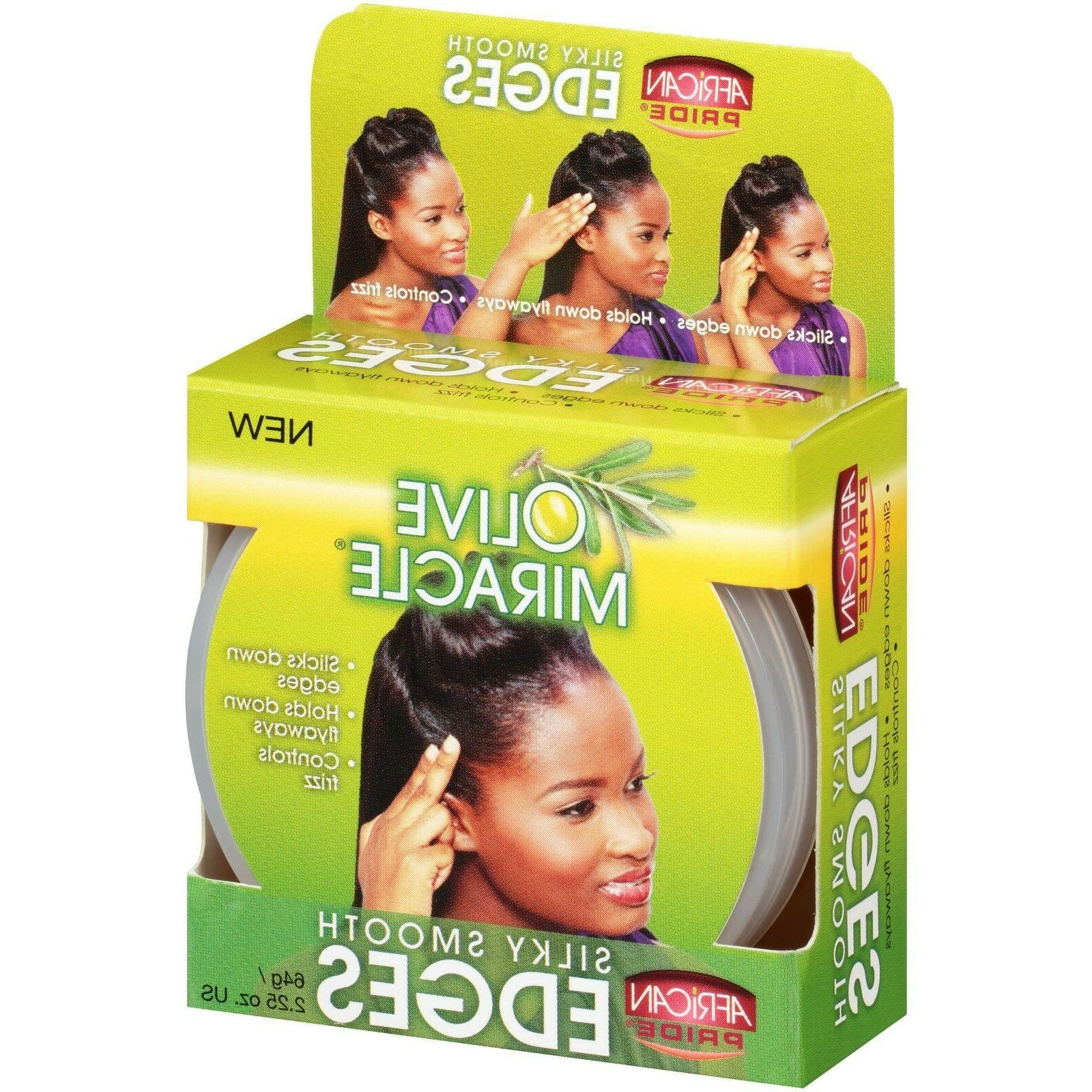 African Pride Silky Smooth Gel oz. Box, 12pk