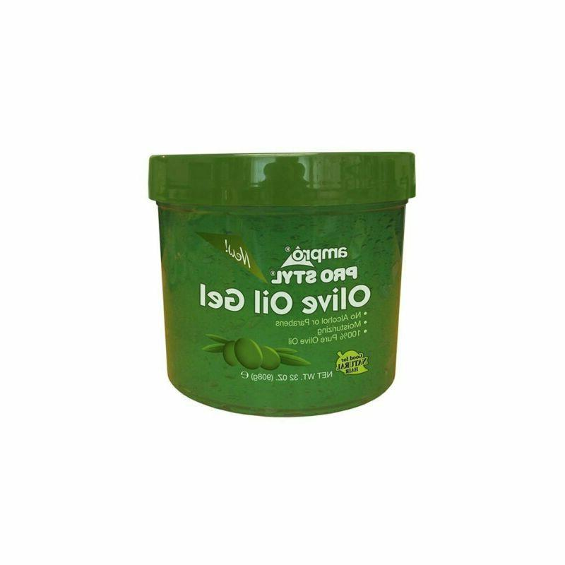 olive oil gel shine and conditioning to
