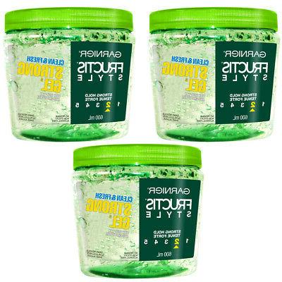 pack of 3 new fructis style clean