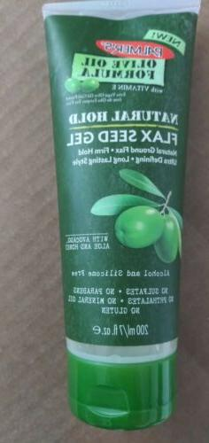 PALMER'S OLIVE OIL FORMULA NATURAL HOLD FLAX SEED HAIR GEL