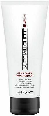 Paul Mitchell Super Clean Sculpting Gel Firm Style Hair Maxi