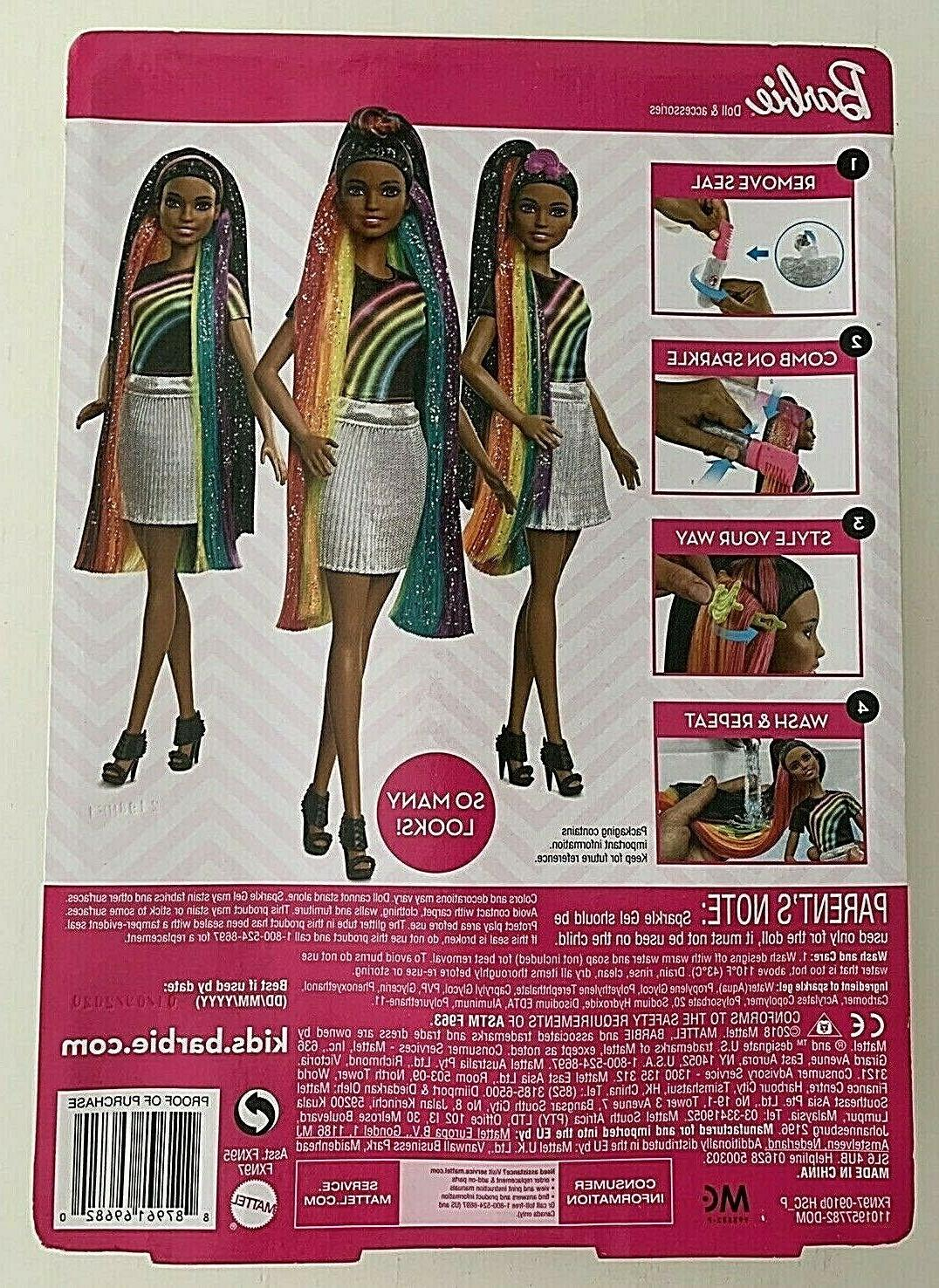 Barbie Sparkle Style Nikki with Styling Accessories NEW