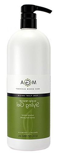Max Green Alchemy Scalp Rescue Styling Gel Refill Size  by M