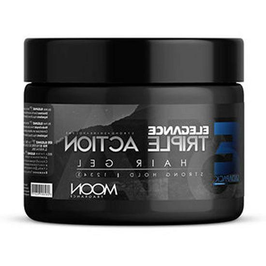 triple action strong hold hair gel 8