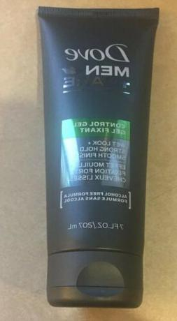 Dove Men + Care Control Hair Gel Wet Look Strong Hold 7oz