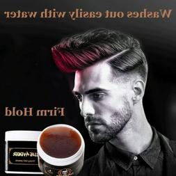 Men Hair Styling Oil Wax Hair Gel Retro Modeling Bright Stro