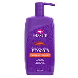Aussie Miraculously Smooth Shampoo with Pump, 29.2 ounce