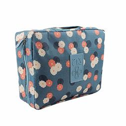 Multifunctional Cosmetic Bag Travel Makeup Pouch with pocket